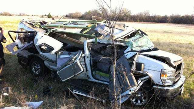 OKC Police Officer Chad Peery Critical After Rollover Accident