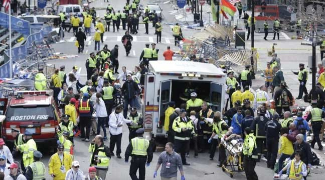 At Least 3 Killed In Explosions At Boston Marathon Finish Line