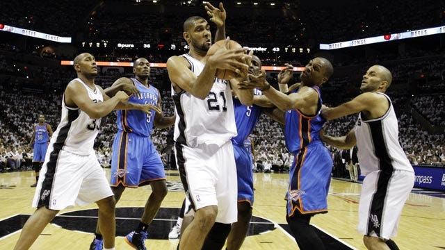 Spurs Appear To Be Conceding No. 1 Seed To Thunder