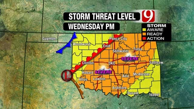 Get Ready For Stormy, Severe Weather Wednesday