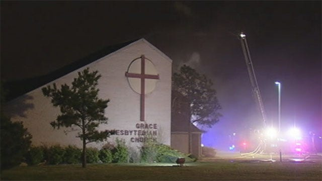 OKC Church Fire Called Suspicious