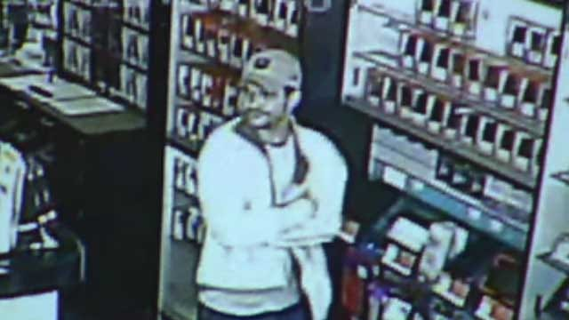Police Search For Man Who Robbed NW OKC Video Game Store