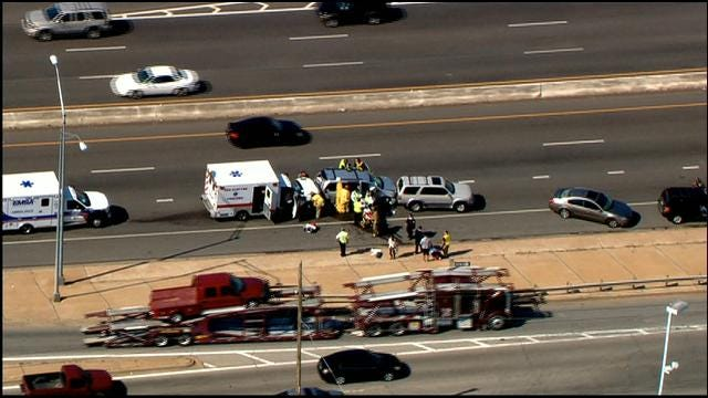 Crews Respond To Three Separate Accidents On I-240 In OKC