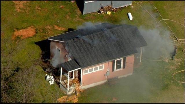 No One Hurt In OKC House Fire