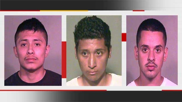 Six Arrested For Allegedly Stripping Truck In SW OKC