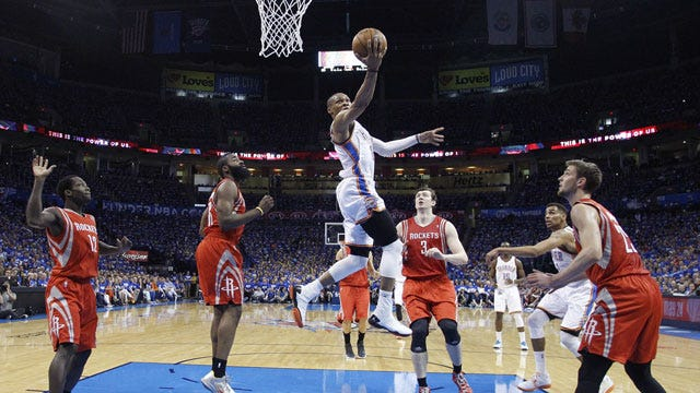 Fear The Thunder: OKC Rolls Harden, Rockets In Game One
