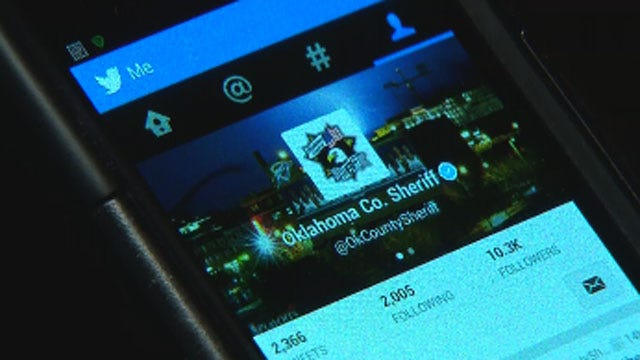 OK County Sheriff's Office 'Live-Tweets' From DUI Checkpoint