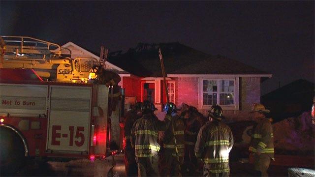 Lightning Blamed For House Fire In NW OKC