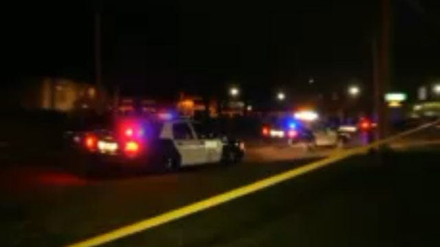 OKC Police Search For Hit-And-Run Driver Who Left Victim In Street