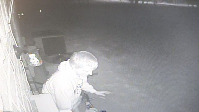 Burglar Caught On Camera Stealing From OKC Children