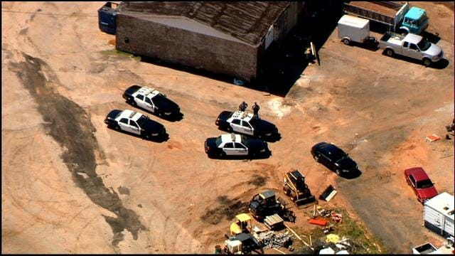 High Speed Chase In OKC Ends With Two In Custody