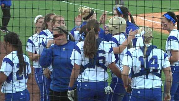 Tulsa Softball Takes Down Oklahoma State In Stillwater