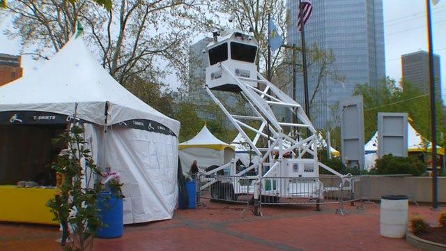 Downtown OKC Prepared For Memorial Run