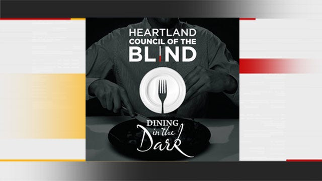 Oklahomans To 'Dine In The Dark' For A Good Cause