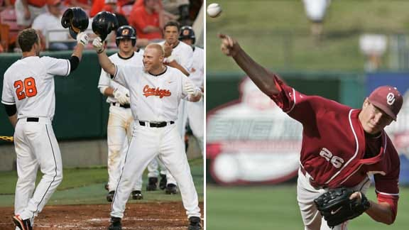 Sunday Baseball Roundup: OSU And ORU Win, While Sooners Fall