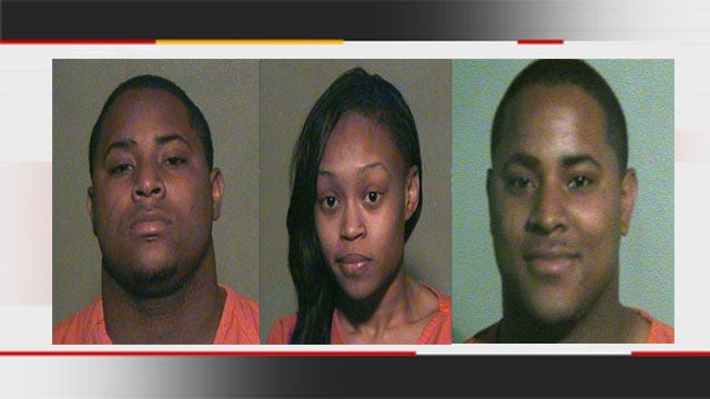 3 Arrested For Assaulting OKC Police Following Fight Over Rental Furniture