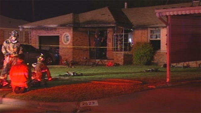 SW OKC Home Burglarized Before Fatal Fire Started, Police Say