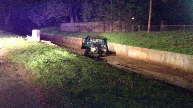 Two Men Injured In Rollover Crash In Del City