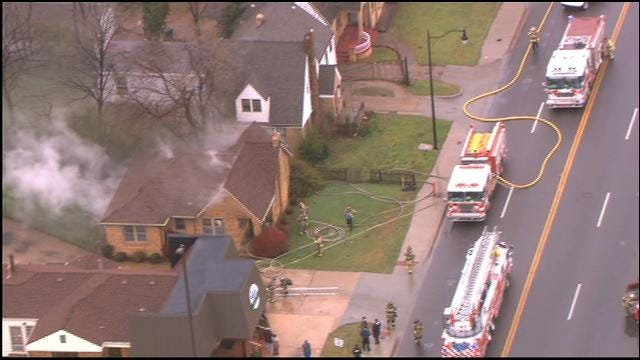 Man Injured After Allegedly Setting NW OKC House On Fire