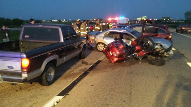 All Lanes Of Westbound I-240 Reopen Following Pileup