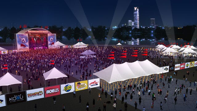 New Concert Venue To Open Along The Oklahoma River This Summer