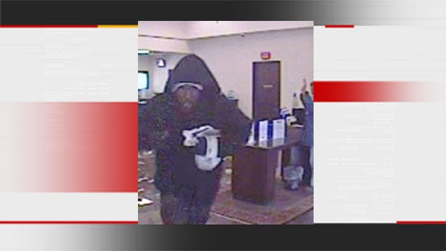 Authorities Search For Suspect In Armed Robbery At OKC Bank