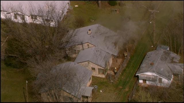Firefighters Put Out House Fire In Northeast OKC