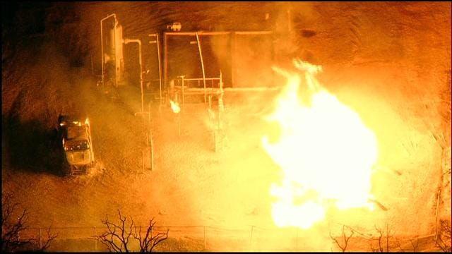 Homes Evacuated After Gas Explosion In Eastern Logan County