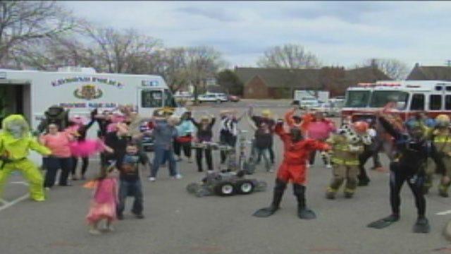 Edmond Emergency Management Makes 'Harlem Shake' Video