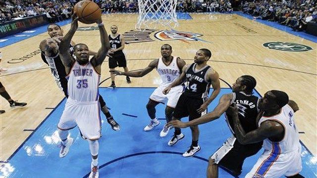 Fisher's Five 3-Balls Help Thunder Sink Spurs