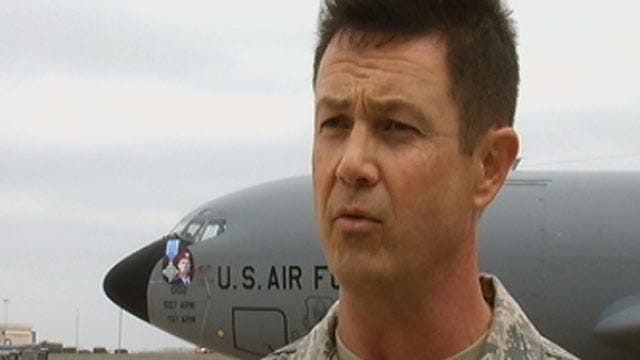 Air Force Reservist Honored At Tinker For Saving Plane Crash Victims