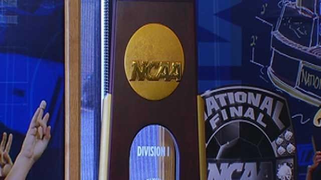 OKC Company Makes NCAA Championship Trophy