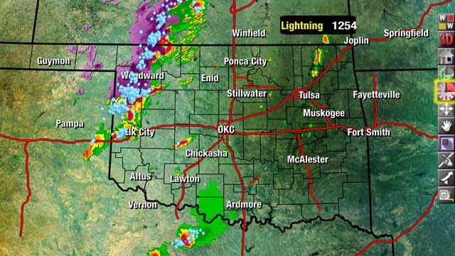 News 9 Weather Team Updates On Severe Weather Chances In Oklahoma