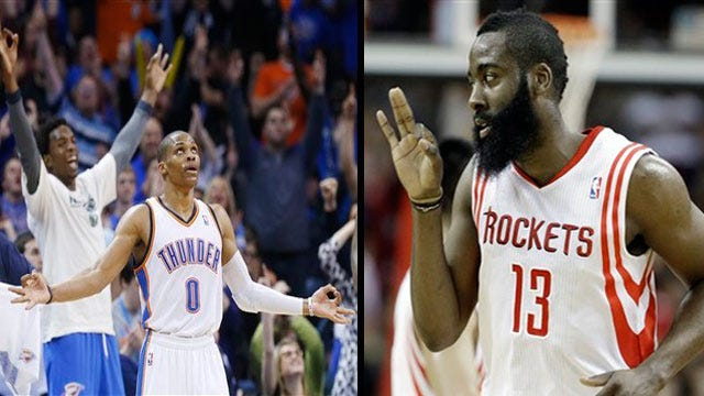 Playoff Countdown: OKC Still Looking Up At No. 1; Rockets Poised To Rise
