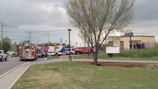 Three Teenagers Taken To Hospital After Falling In NW OKC Creek