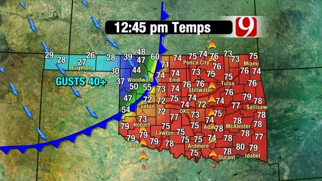 Wild Weather Ride In Store For Oklahoma