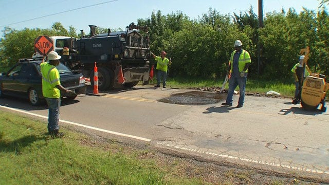 Drivers Fed Up With Shoddy SE OKC Road