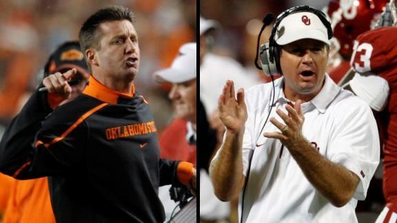 Oklahoma State, Oklahoma Ranked In 2013 Coaches' Poll