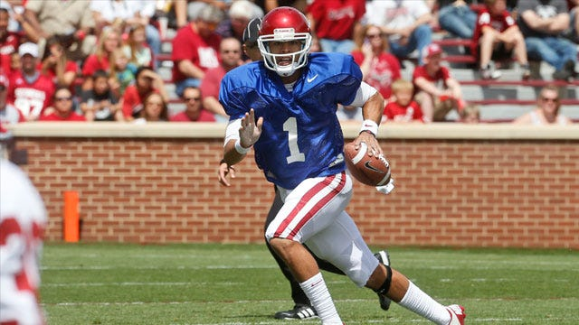 Stoops Confirms QB Thompson's Injury