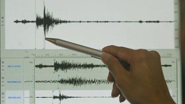 Small Earthquake Recorded Near Jones