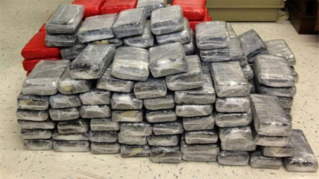 Deputy Finds 200 Pounds Of Pot During Traffic Stop In OKC