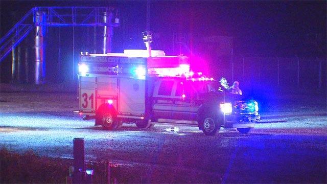 Lightning Strike Causes Oil Battery Explosion In OKC