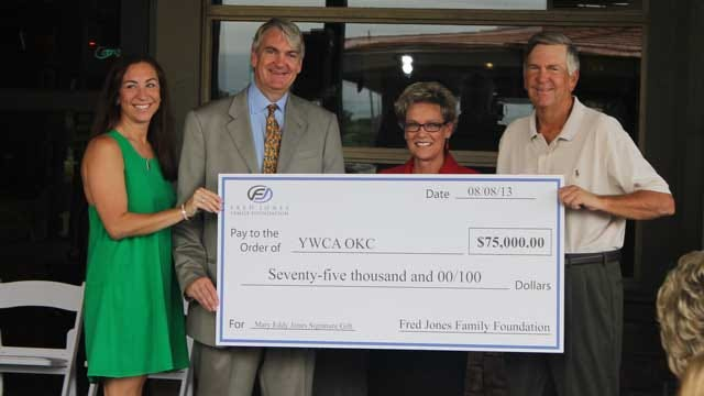 YWCA OKC Receives $75,000 Grant From Fred Jones Family Foundation