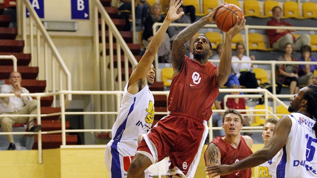 Sooners Smash Competition In France