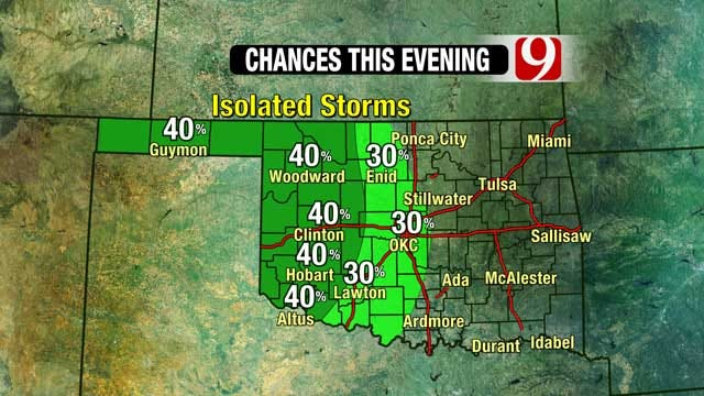 More Rain, Thunderstorms Expected Across Oklahoma