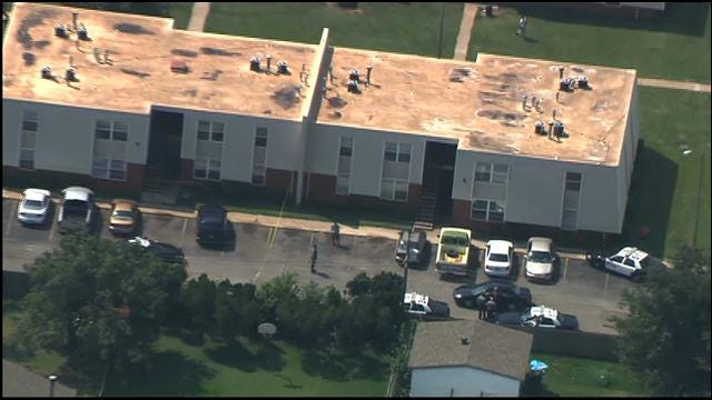 Police Investigate Shooting At SW OKC Apartment Complex