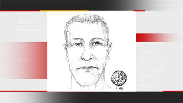 OKC Police Release Sketch Of Man Accused Of Indecent Exposure