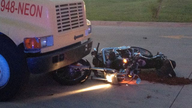 Two Critical After Motorcycle Collides With Pickup In SW OKC