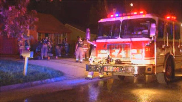 Fire Damages Home In SW OKC