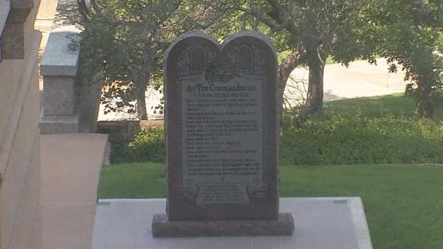 ACLU Sues To Remove 10 Commandments Monument From OK Capitol